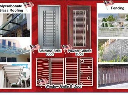 Iron Works Puchong Glass Roof